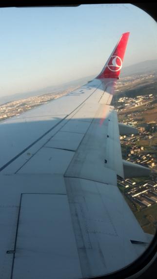 Landung in Istanbul